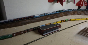 Train Layout - Church Area Embankment - 8-28-16