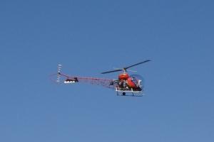 Batcopter in Flight 3 9-3-16