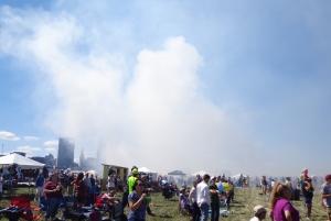 City Engulfed by Smoke 9-3-16