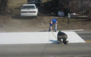 Laying Carpet Step 2