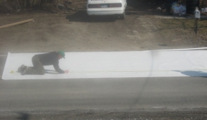 Laying Carpet Step 4