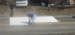 Laying Carpet Step 5