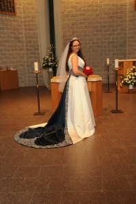Me In My Wedding Dress