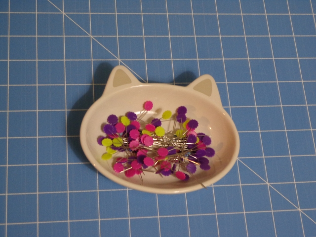 Cat Pin Dish Full