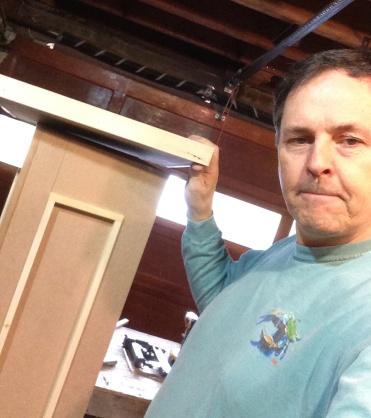 Dave Working on Pedestals