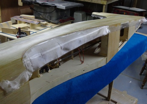 Ziroli A-1 Fuselage Glassing 3-31-17