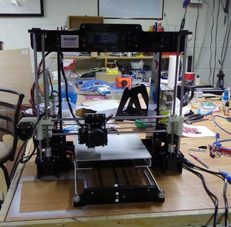 Ben's 3D Printer 5-31-17