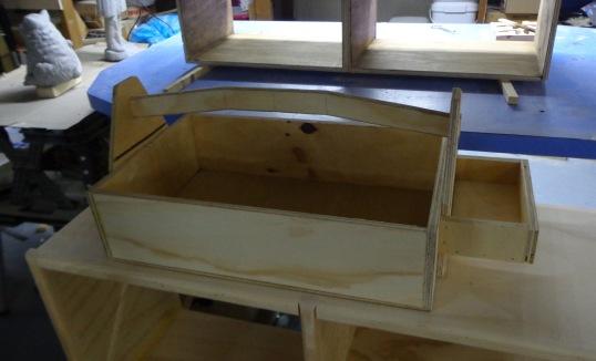 Gardening Box Unfinished 5-31-17