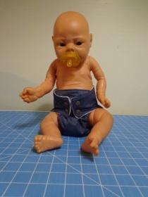 Brandon in Diaper