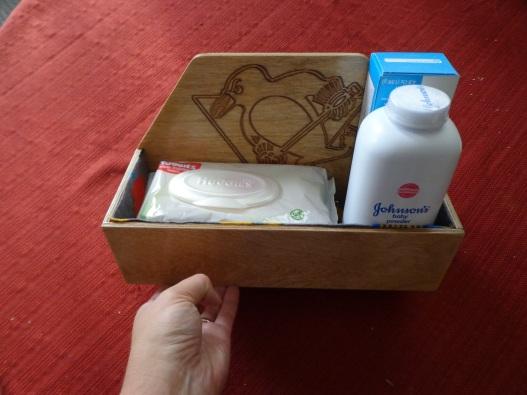 Filled Diaper Box