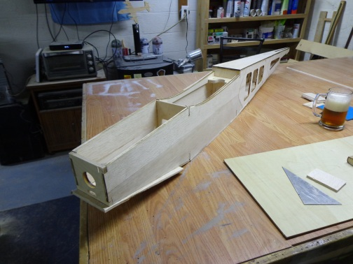 Ultra Stick - Glued Fuselage 9-22-17