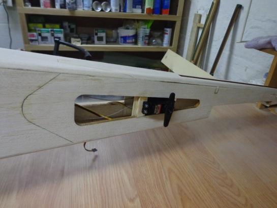 Ultra Stick - Tail Servo - 10-22-17