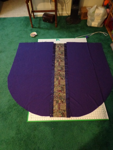 Chasuble Adornment Panel Pinned