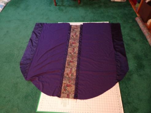 Chasuble Half Sewn