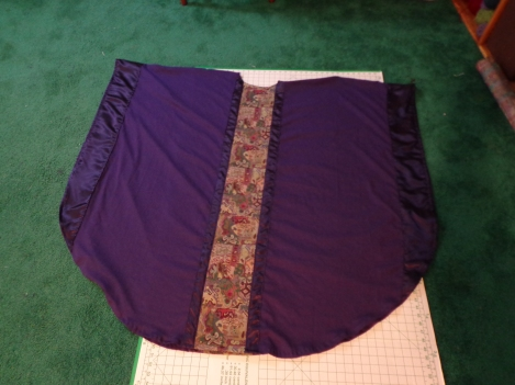 Chasuble Half Way Point