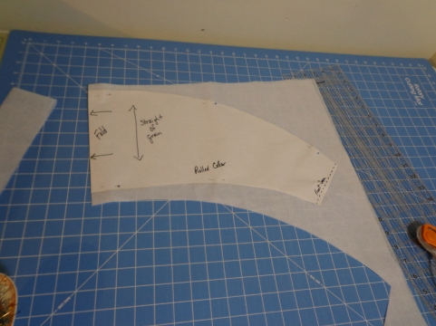 Chasuble Rolled Collar Stabilizer