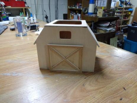 Barn Remote Control Holder 1
