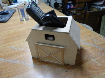 Barn Remote Control Holder 2