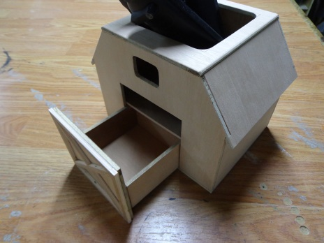Barn Remote Control Holder 3
