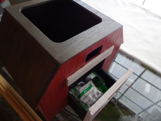 Barn Remote Holder Drawer