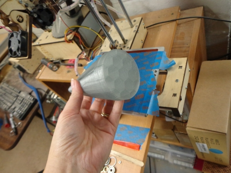 3D Printed Nose Cone - Solid