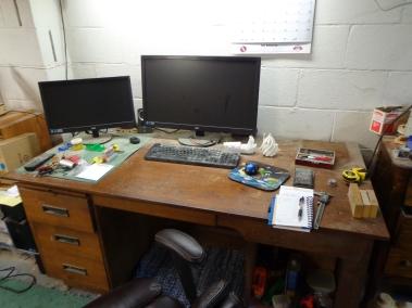 Jay's Clean Desk 2-21-18