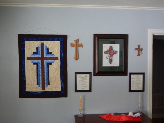Wall of Crosses 1-16-18