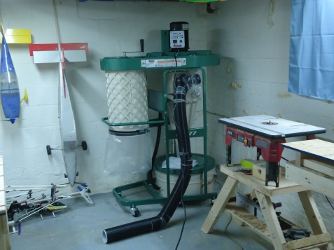 Assembled Dust Collector