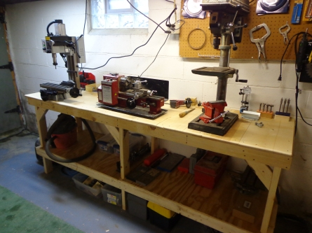 New Bench - Small Workshop