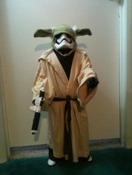 Gary as Yoda