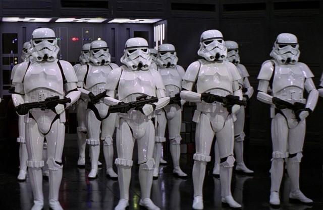 Storm Trooper Graduation