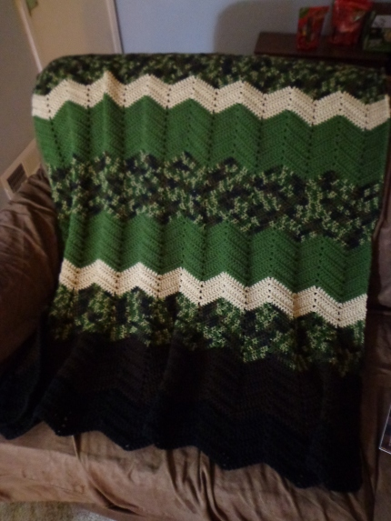 Project Linus Blanket #11 5-31-18 - In the Army