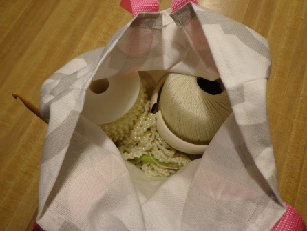 Crochet Tote Bag 2