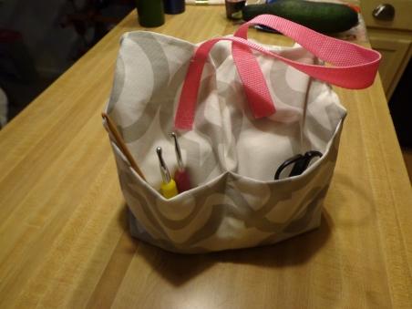 Crochet Tote Bag 8-1-18