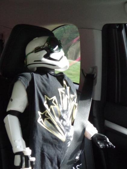 Gary in Car