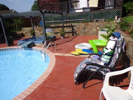 Gary Sunbathing