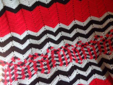 Project Linus Blanket #12 - Detail