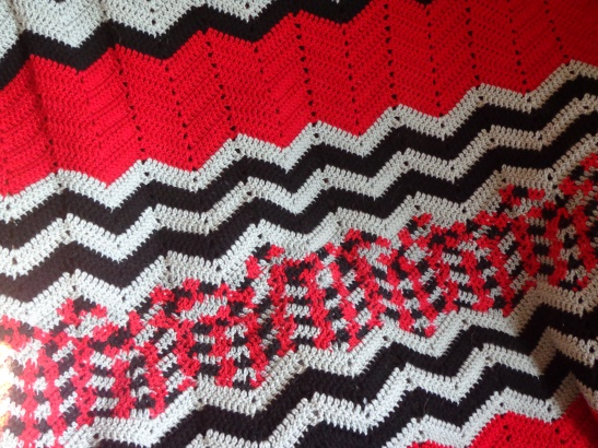Project Linus Blanket #12 - Detail