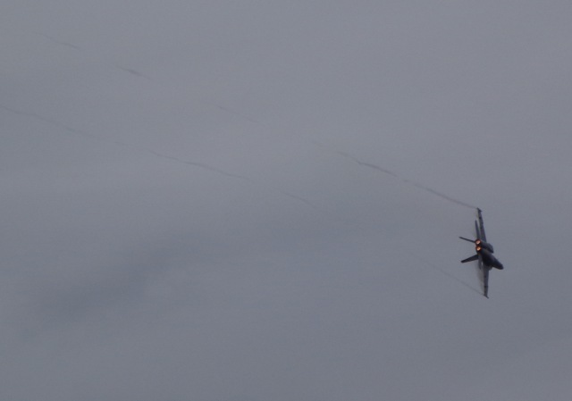F-18 Turning
