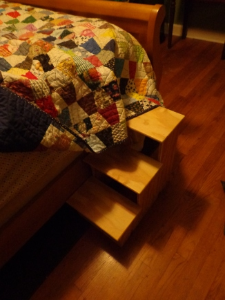 Chester's Bed Steps