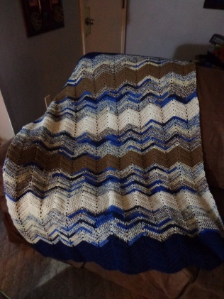 Project Linus Blanket #14 - Coastal Shores