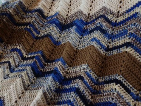 Project Linus Blanket #14 - Detail