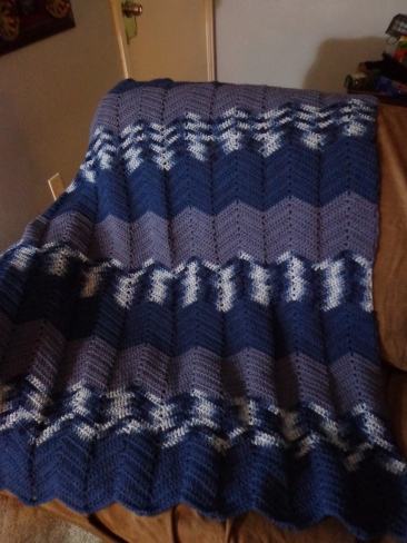 Project Linus Blanket #15 - Winter Blues