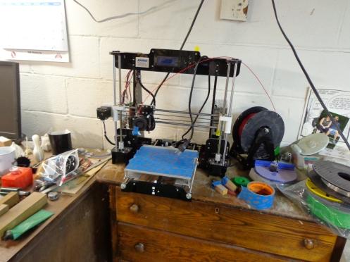 2nd 3d printer