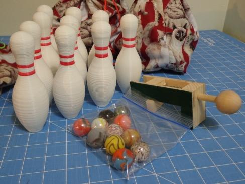 Bowling Balls and Shooter
