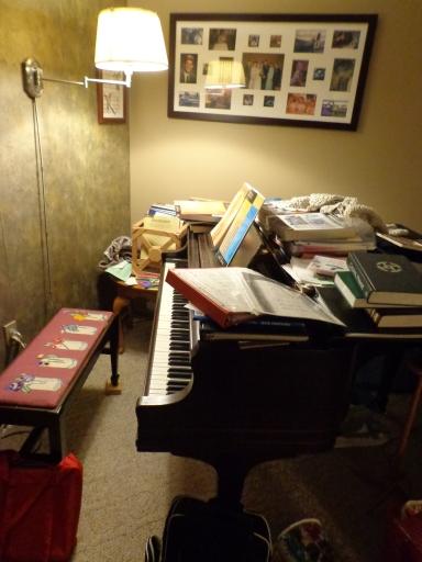 Piano Music Mess