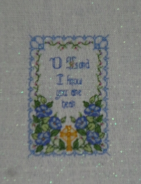 karen's missal cover stitched