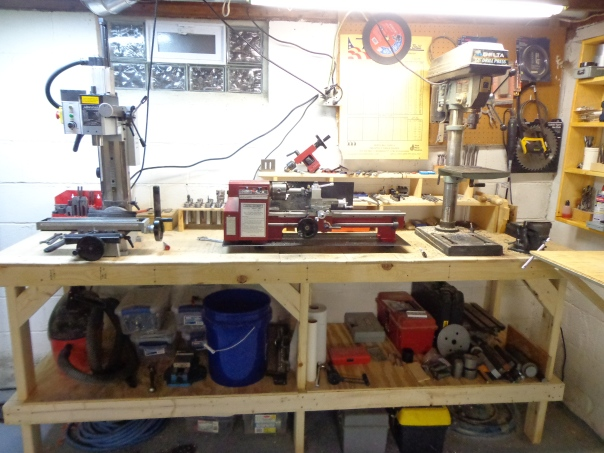 small workshop bench 1-18-19