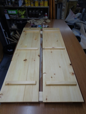 Jewelry Armoire - Sanded Doors