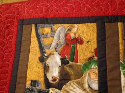 Quilted Nativity Panel